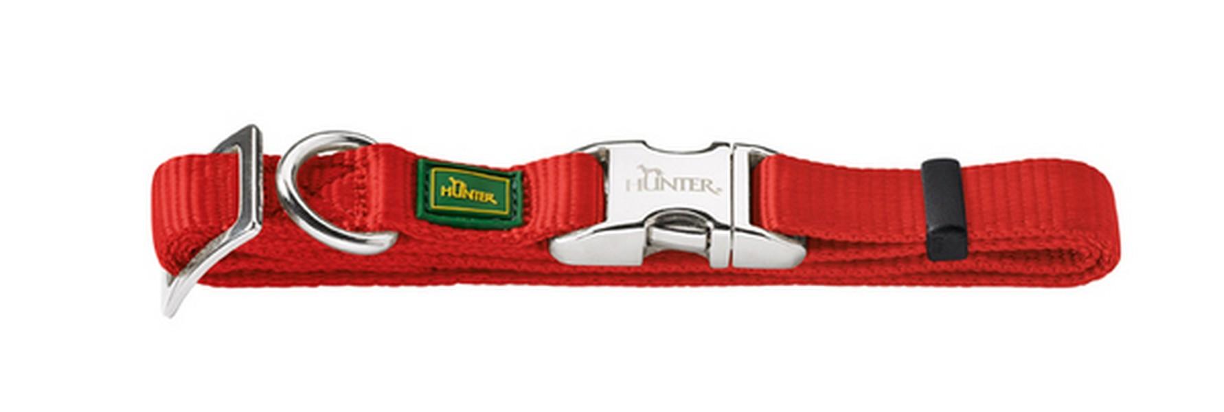 Hunter Alu-Strong ошейник для собак нейлон с металлической застежкой размер M (40-55 см)