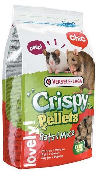 Versele-Laga Crispy Pellets Rats & Mice / Версель-Лага корм для Крыс и Мышей гранулированный