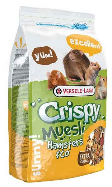 Versele-Laga Crispy Muesli Hamsters & Co / Версель-Лага корм для Хомяков и других грызунов