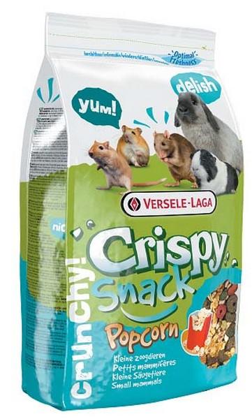 Versele-Laga Crispy Snack Popcorn / Версель-Лага дополнительный корм для грызунов с попкорном
