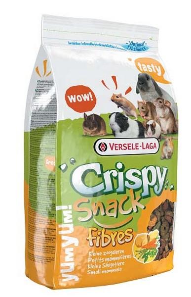 Versele-Laga Crispy Snack Fibres / Версель-Лага дополнительный корм для грызунов с клетчаткой