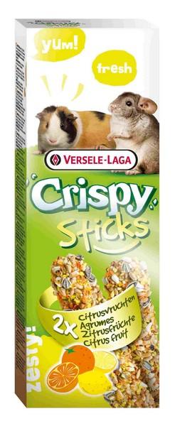 Versele-Laga Crispy Sticks Citrus Fruit / Версель-Лага палочки для Морских свинок и Шиншилл с цитрусовыми