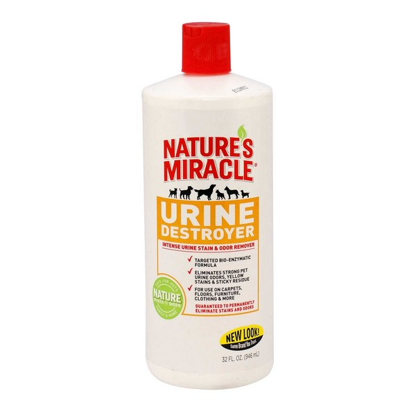 8in1 Nature's Miracle Urine Destroyer / 8в1 Уничтожитель Пятен, запахов и осадка от мочи Cобак