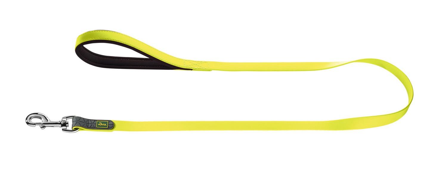 Hunter Convienience поводок для собак биотановый неон 15мм/120см