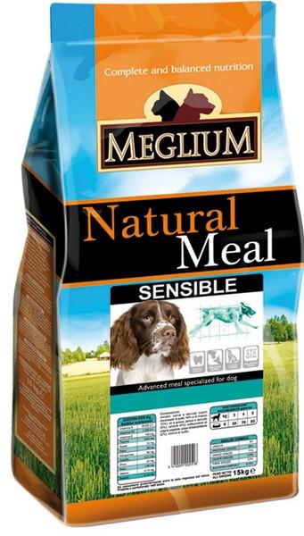 Meglium Sensible / Сухой корм Меглиум для взрослых собак с Чувствительным пищеварением Ягненок Рис
