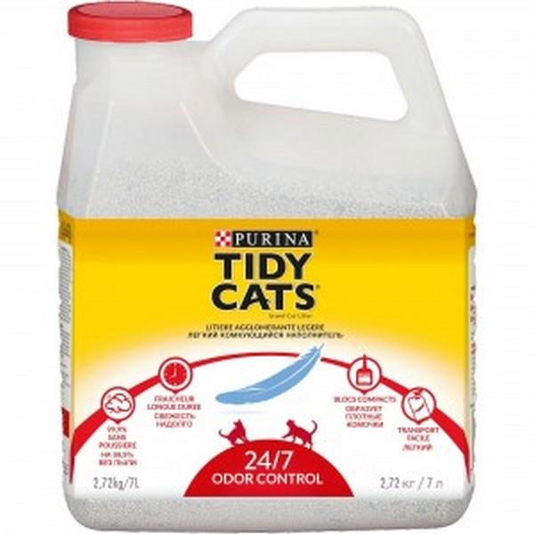 Tidy Cats 24/7 / Наполнитель Тайди Кэтс для кошачьего туалета Комкующийся
