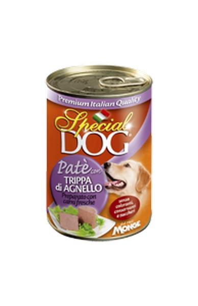 Special Dog Pate con Trippa di Agnello / Консервы Спешл Дог для собак Паштет Рубец Ягненок (цена за упаковку)