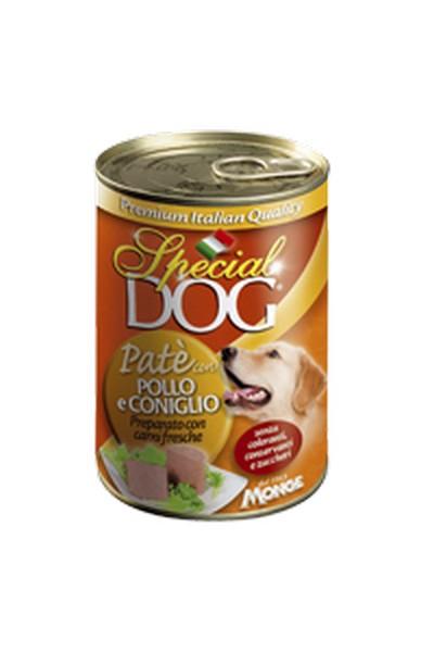 Special Dog Pate con Pollo e Coniglio / Консервы Спешл Дог для собак Паштет Курица с кроликом (цена за упаковку)