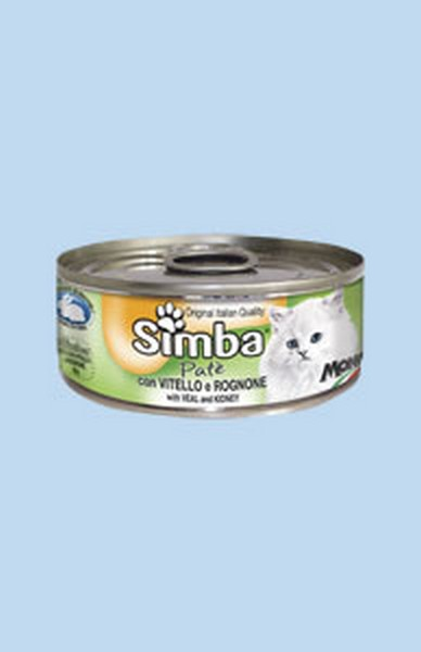 Simba Mousse / Консервы Симба Мусс для кошек Телятина и Почки (цена за упаковку)