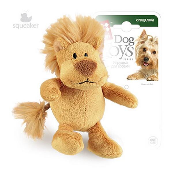 GiGwi Dog Toys / Игрушка Гигви для собак Лев с пищалкой