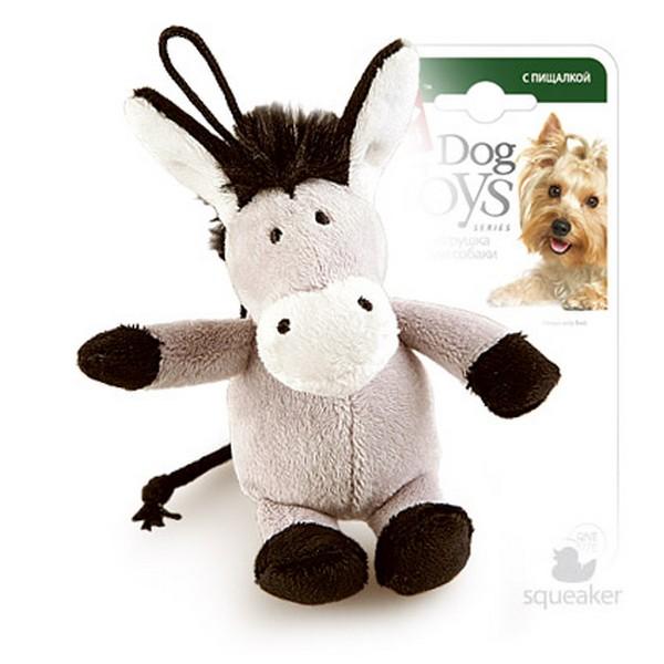 GiGwi Dog Toys / Игрушка Гигви для собак Ослик с пищалкой