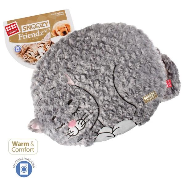 GiGwi Cat & Small Dogs Snoozy Friendz / Лежанка Гигви для кошек и маленьких собак Кот