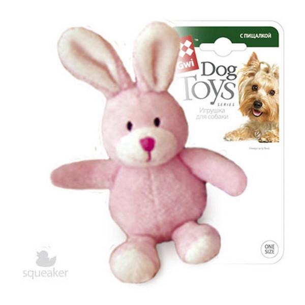 GiGwi Dog Toys / Игрушка Гигви для собак Заяц с пищалкой