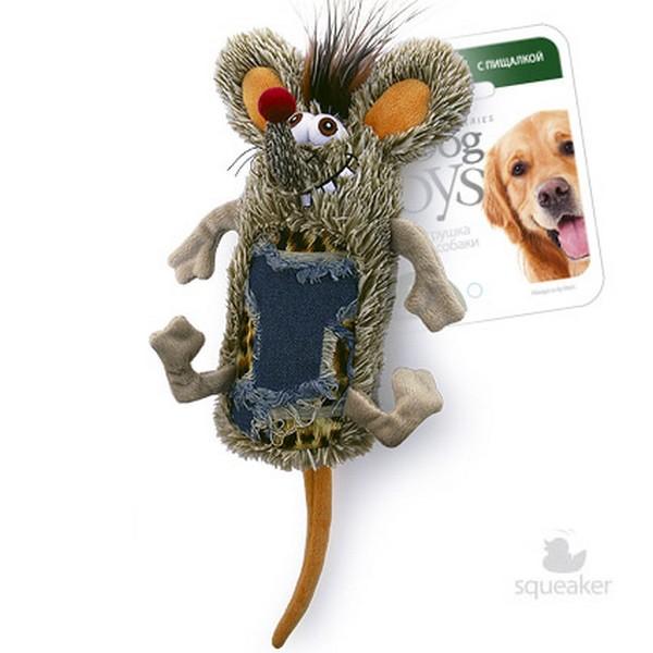 GiGwi Dog Toys / Игрушка Гигви для собак Мышь с большой пищалкой