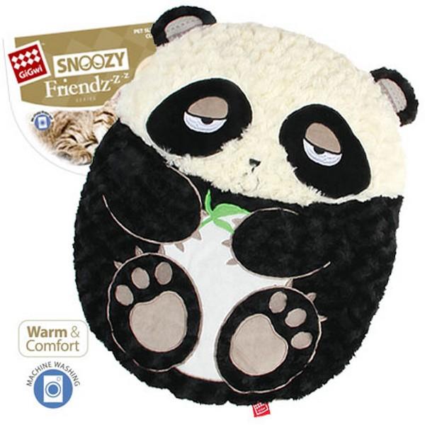 GiGwi Cat & Small Dogs Snoozy Friendz / Лежанка Гигви для кошек и маленьких собак Панда