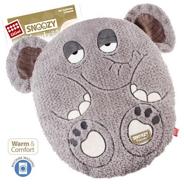 GiGwi Cat & Small Dogs Snoozy Friendz / Лежанка Гигви для кошек и маленьких собак Слон