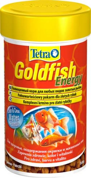 Tetra Goldfish Energy Sticks / Корм Тетра для золотых рыб в палочках энергетический