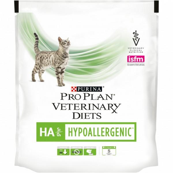 Purina Pro Plan Veterinary Diets HA Hypoallergenic / Лечебный корм Пурина Про План Ветеринарная Диета для кошек Гипоаллергенный Пищевая аллергия