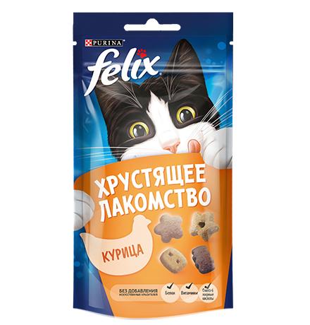 Felix Хрустящее лакомство / Лакомство Феликс Курица