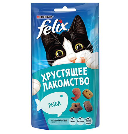 Felix Хрустящее лакомство / Лакомство Феликс Рыба