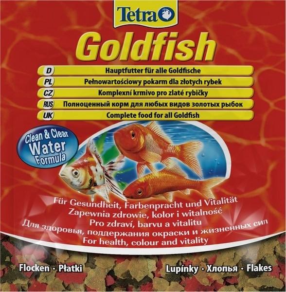 Tetra Goldfish / Корм Тетра в хлопьях для всех видов золотых рыбок