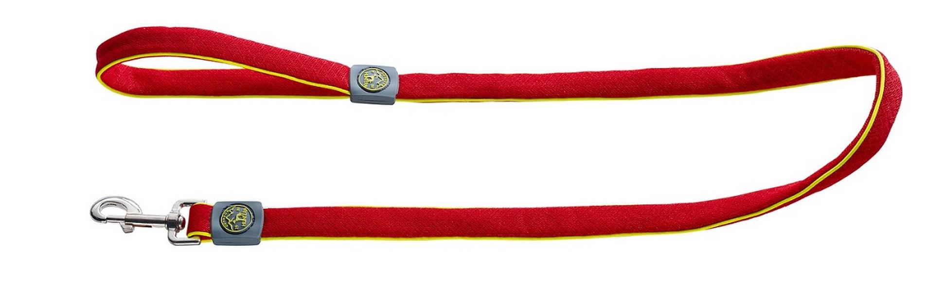 Hunter Maui поводок для собак сетчатый текстиль 20мм/140см