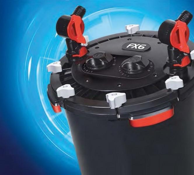 Fluval FX6 / Фильтр Флювал Внешний для аквариумов до 1500 л