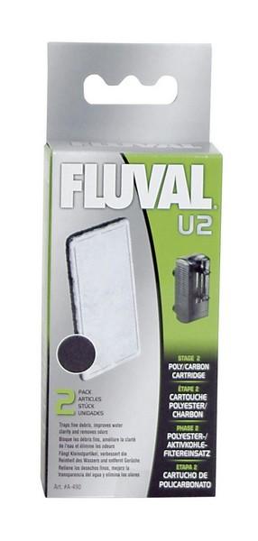 Fluval / Губка Флювал для фильтра Угольная