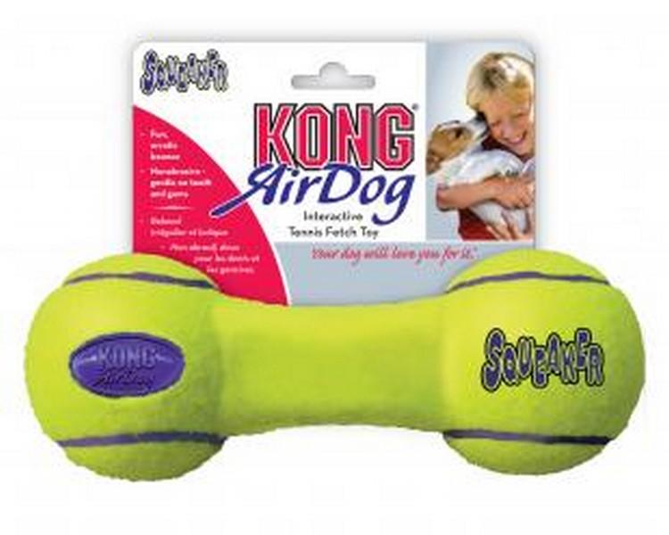 Kong Air Dog / Игрушка Конг для собак Гантель
