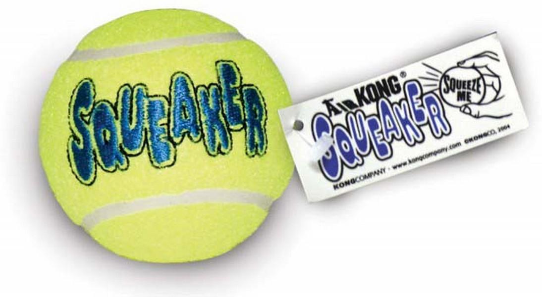 Kong Air Dog / Игрушка Конг для собак Теннисный мяч