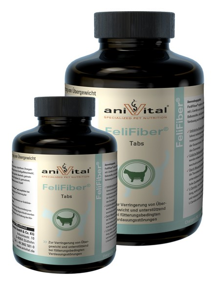AniVital FeliFiber / Анивитал ФелиФайбер Таблетки для Снижения веса кошек