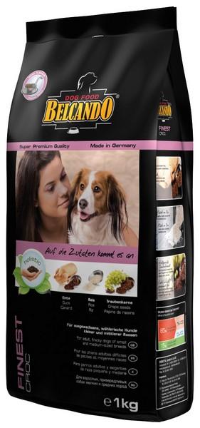 Belcando Finest Croc / Сухой корм Белькандо Файнест Крокеты для Привередливых собак Мелких и Средних пород Птица