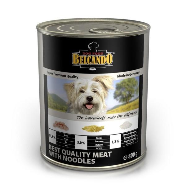 Belcando Meat with Noodles / Консервы Белькандо для собак Мясо с лапшой (цена за упаковку)