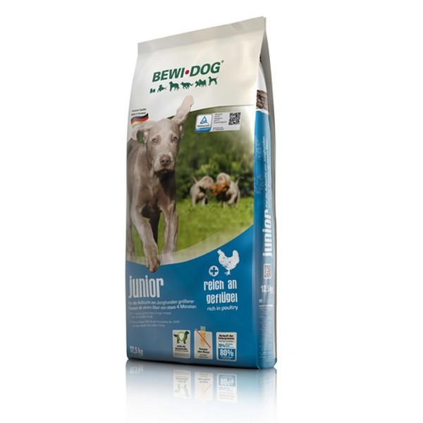 Bewi Dog Junior / Сухой корм Бэви Дог для Щенков Крупных пород от 4 месяцев Птица