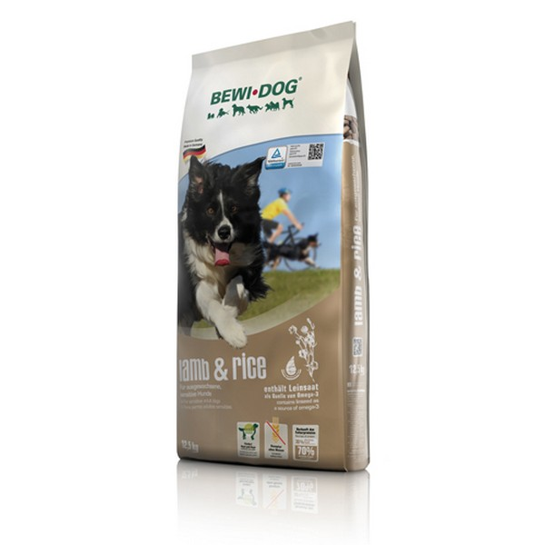 Bewi Dog Lamb & Rice / Сухой корм Беви Дог для собак с Чувствительным пищеварением Ягненок и Рис