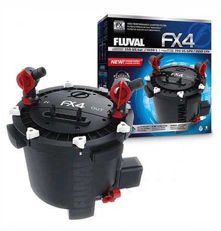 Fluval FX4 / Фильтр Флювал Внешний для аквариумов до 1000л