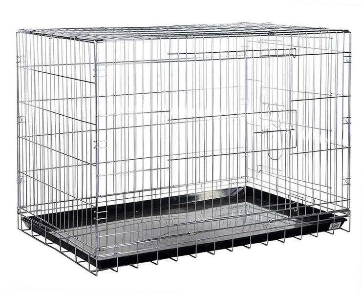 Kredo Crome / Клетка Кредо для Собак Хром с пластиковым поддоном