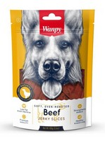 Wanpy Jerky Slices Beef / Лакомство Ванпи Соломка из вяленой Говядины