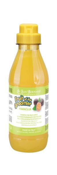 Iv San Bernard Fruit of the Groomer Maracuja Shampoo Long coat / Шампунь Ив Сан Бернард для Длинной шерсти с Протеинами