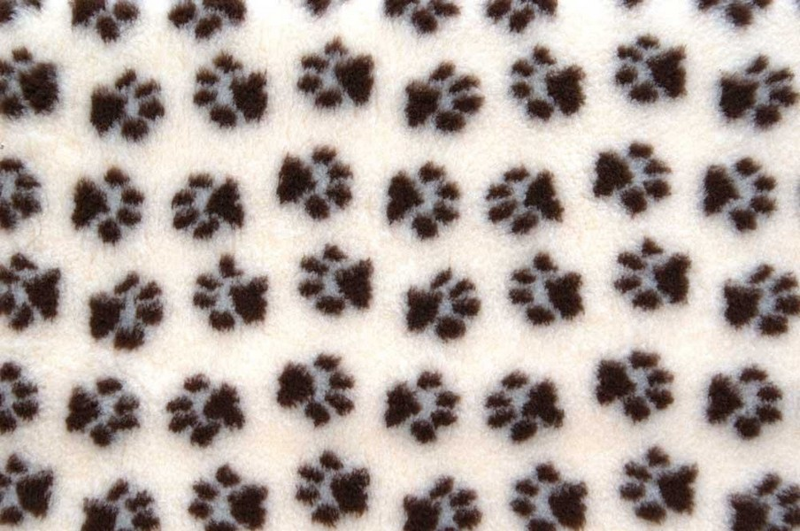 ProFleece / Коврик ПроФлис для животных Меховой многофункциональный Сливки/шоколад