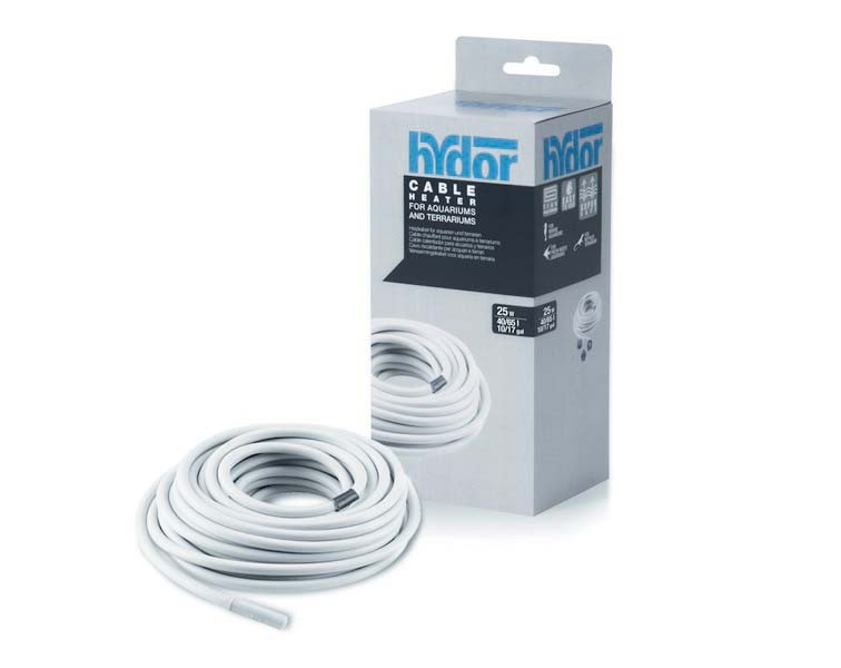 Hydor CABLE HEATER HYDROKABLE  25 Вт гидрокабель 4,3 м для аквариумов 40-65 л