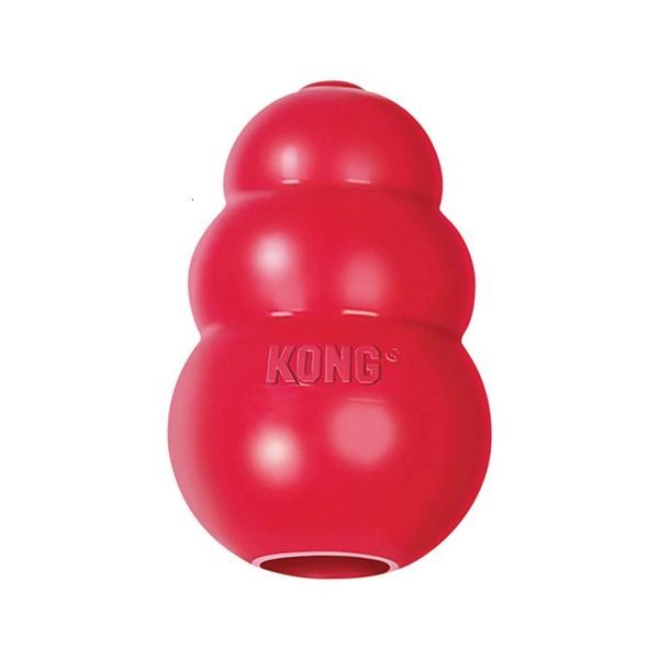 Kong Classic / Игрушка Конг для собак Сверхупругая под Лакомства