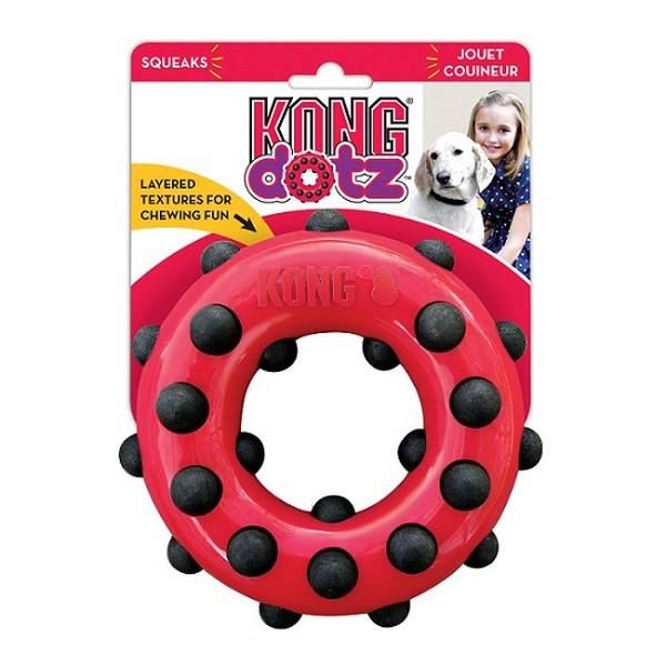 Kong Dotz / Игрушка Конг для собак Кольцо