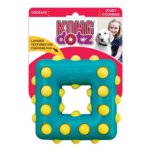 Kong Dotz / Игрушка Конг для собак Квадрат