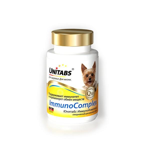 Unitabs ImmunoComplex с Q10 / Витаминно-минеральный комплекс Юнитабс для Мелких собак