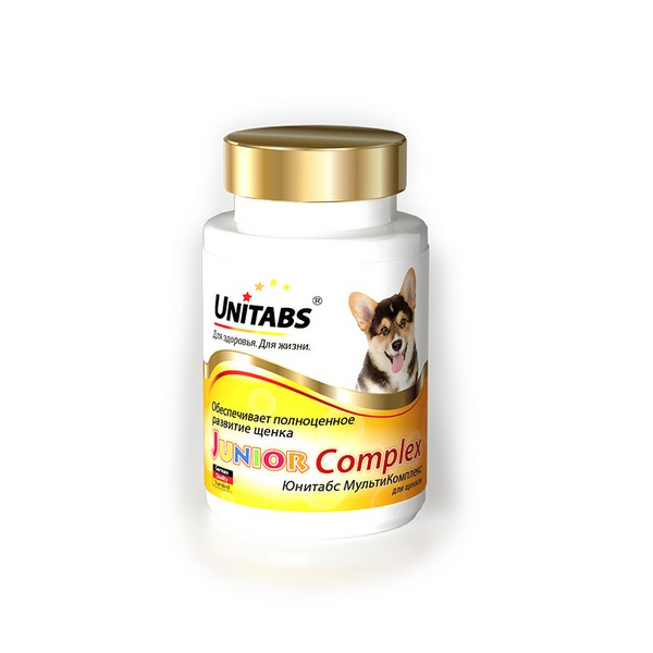 Unitabs JuniorComplex / Витаминно-минеральный комплекс Юнитабс для Щенков