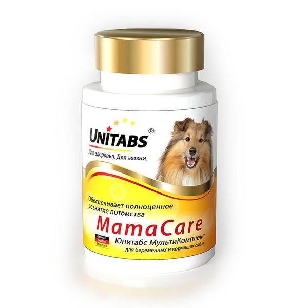 Unitabs МамаCare / Витаминно-минеральный комплекс Юнитабс для Беременных собак