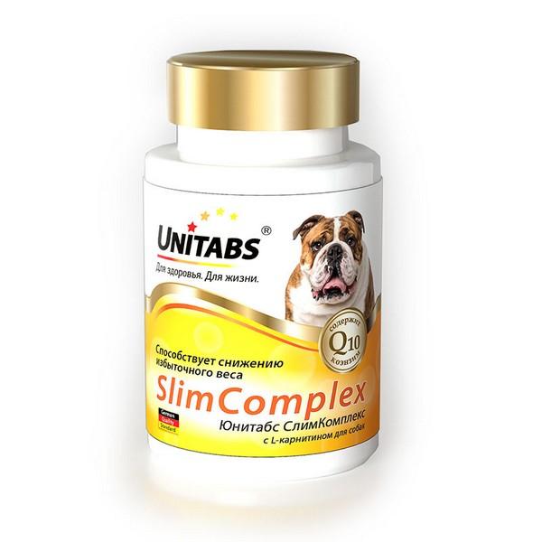 Unitabs Slim Complex UT c Q10 / Витаминно-минеральный комплекс Юнитабс для собак с L-карнитином