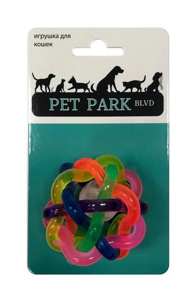 Aromadog Petpark / Игрушка Петпак для кошек Мячик светящийся Пластик
