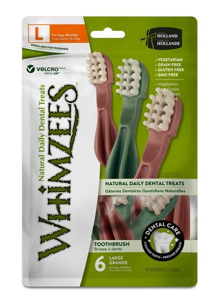 Whimzees Toothbrush Star L / Лакомство Вимзис для собак Зубная щетка 15 см